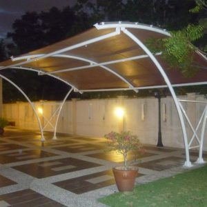 Tensile Car Porch